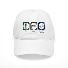 Eat Sleep Technical and Business Writing Baseball Cap