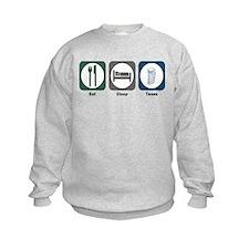 Eat Sleep Taxes Sweatshirt
