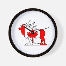 ELKAHOLIC elk hunter gifts Wall Clock