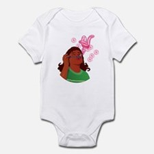 Blowing Bubbles and Wishes Infant Bodysuit