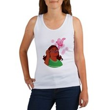 Blowing Bubbles and Wishes Women's Tank Top