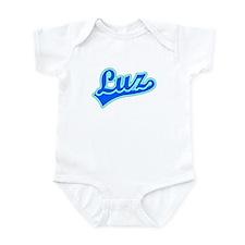 Retro Luz (Blue) Infant Bodysuit
