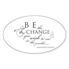 Change - Oval Sticker (10 pk)