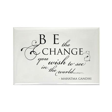Change - Rectangle Magnet (10 pack)