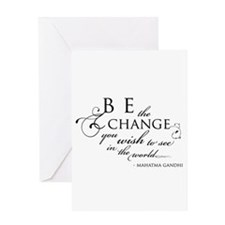 Change - Greeting Card