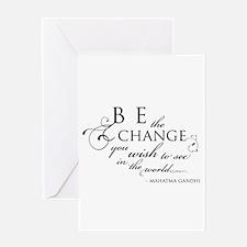 Change - Greeting Card