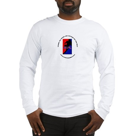 Long Sleeve T-Shirt w/Custom Front and Back logos