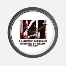 Slaughterhouse Cow Wall Clock