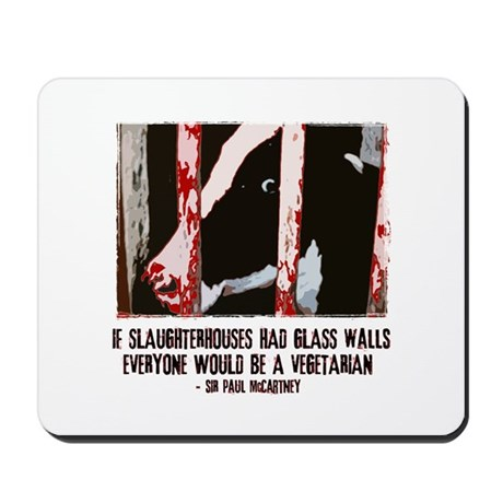 Slaughterhouse Cow Mousepad