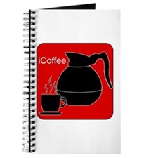 iCoffee Red Journal
