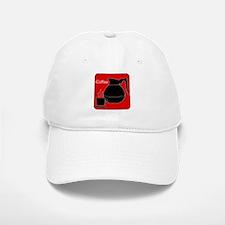 iCoffee Red Baseball Baseball Cap