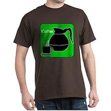 iCoffee Green T-Shirt