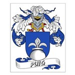 Puig Family Crest Small Poster