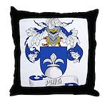Puig Family Crest Throw Pillow