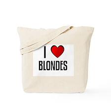 I LOVE BLONDES Tote Bag