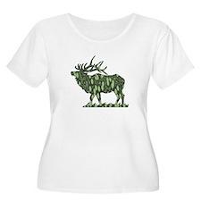 camo elk T-Shirt