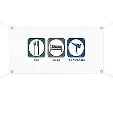 Eat Sleep Tae Kwon Do Banner