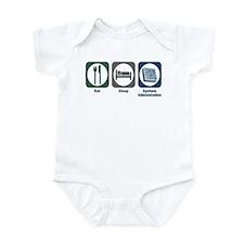 Eat Sleep System Administration Infant Bodysuit