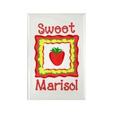 Sweet Marisol Rectangle Magnet