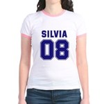 Silvia 08 Jr. Ringer T-Shirt