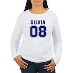 Silvia 08 Women's Long Sleeve T-Shirt