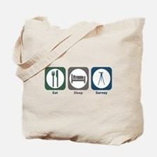 Eat Sleep Survey Tote Bag