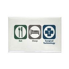 Eat Sleep Surgical Technology Rectangle Magnet
