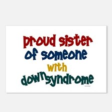 Proud Sister....2 (DS) Postcards (Package of 8)