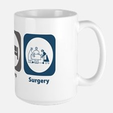 Eat Sleep Surgery Large Mug