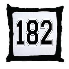 182 Throw Pillow