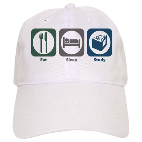 Eat Sleep Study Cap