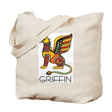Colorful Griffin Tote Bag