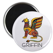 Colorful Griffin Magnet
