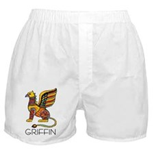 Colorful Griffin Boxer Shorts