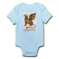 Colorful Griffin Infant Creeper