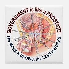 Government Prostate Tile Coaster