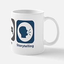 Eat Sleep Storytelling Mug
