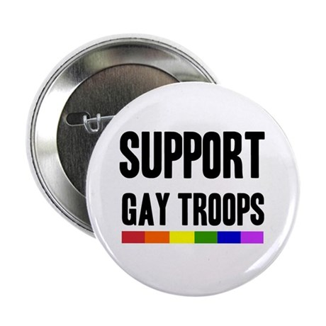 Support Gay Troops Button