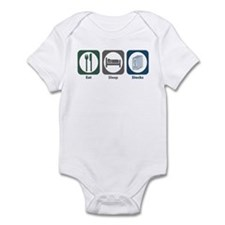 Eat Sleep Stocks Infant Bodysuit