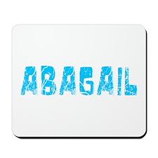 Abagail Faded (Blue) Mousepad