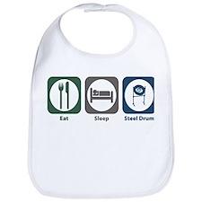 Eat Sleep Steel Drum Bib