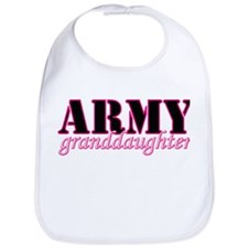 Army Granddaughter Bib