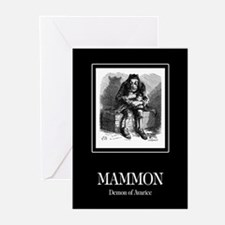 Mammon Greeting Cards (Pk of 10)