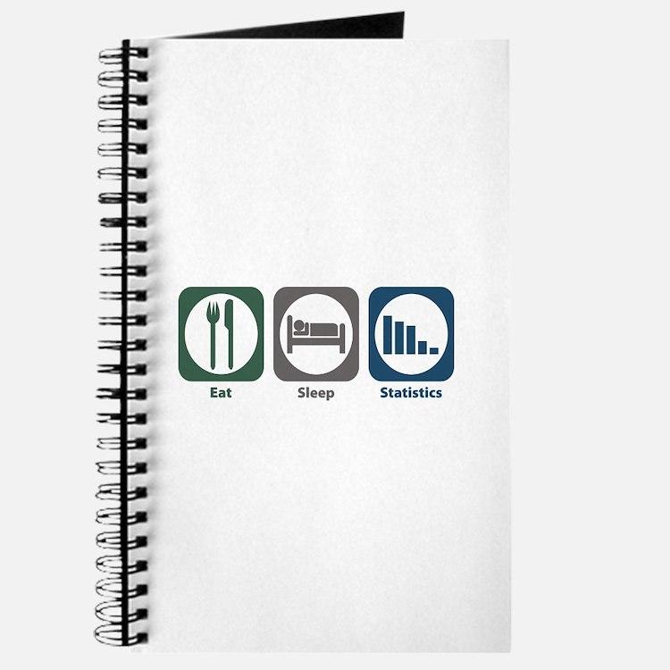 Eat Sleep Statistics Journal