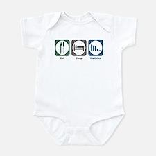 Eat Sleep Statistics Infant Bodysuit
