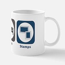 Eat Sleep Stamps Mug