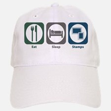 Eat Sleep Stamps Baseball Baseball Cap