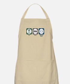 Eat Sleep Stained Glass BBQ Apron