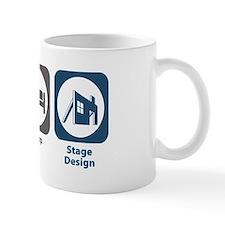 Eat Sleep Stage Design Mug