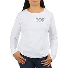 Eat Sleep Stage Design T-Shirt